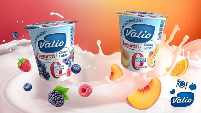 Valio расширяет линейку молочной продукции