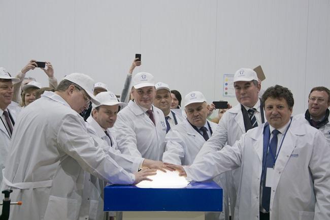 Открытие Казьминского молочного комбината