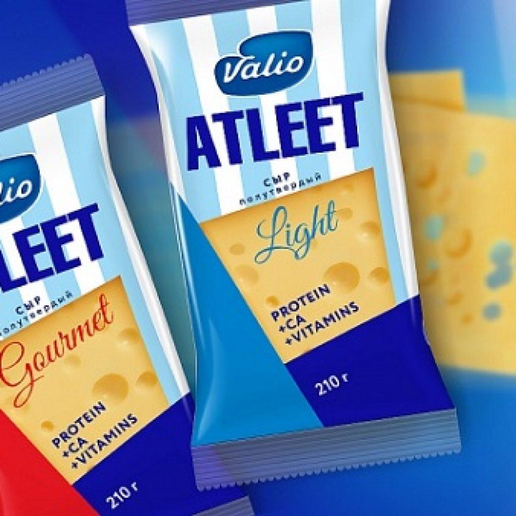Valio в Московской области будут производить сыр в мягкой упаковке