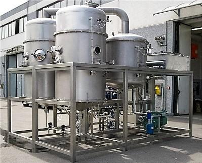 Вакуум-выпарной аппарат для молока