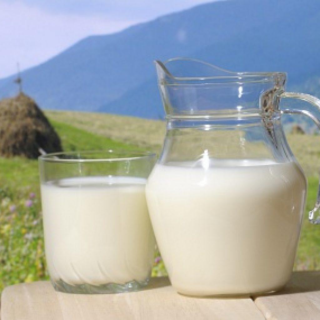 американское молоко