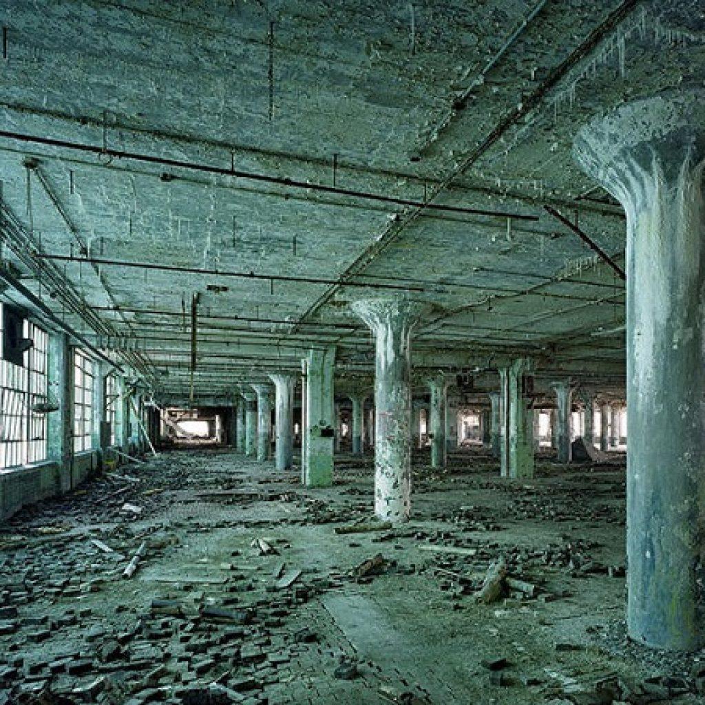 завод призрак