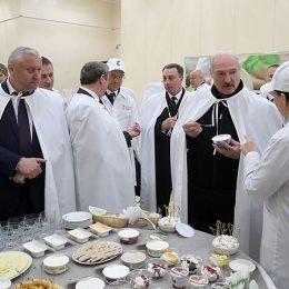 Лукашенко поручил проанализировать эффективность молокозаводов
