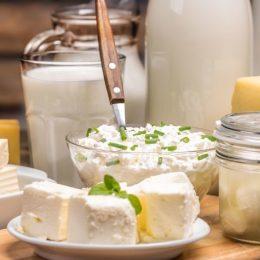 Польза употребления молочных продуктов