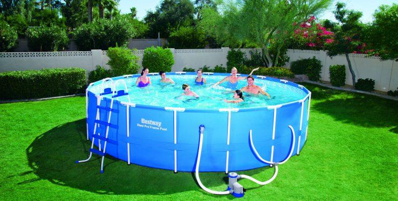 Как ухаживать и хлорировать бассейн с металлическим каркасом?
